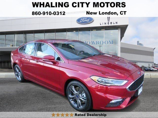 Ford Fusion Sport In New London CT Ford Fusion Whaling - Ford dealers in ct