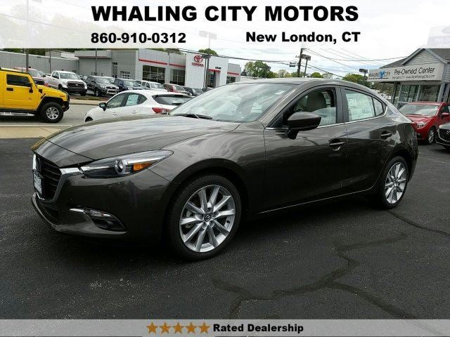 2017 mazda3 4 door grand touring in new london ct mazda mazda3 4 door whaling city ford. Black Bedroom Furniture Sets. Home Design Ideas