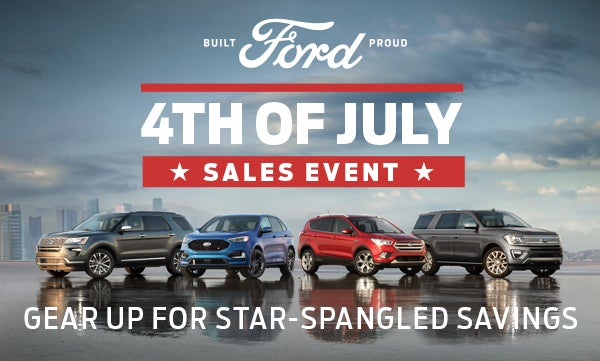 Whaling City Ford >> Ford's 4th of July Sales Event
